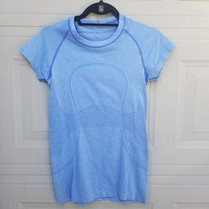 Lululemon Blue Swiftly Short Sleeve Shirt 6